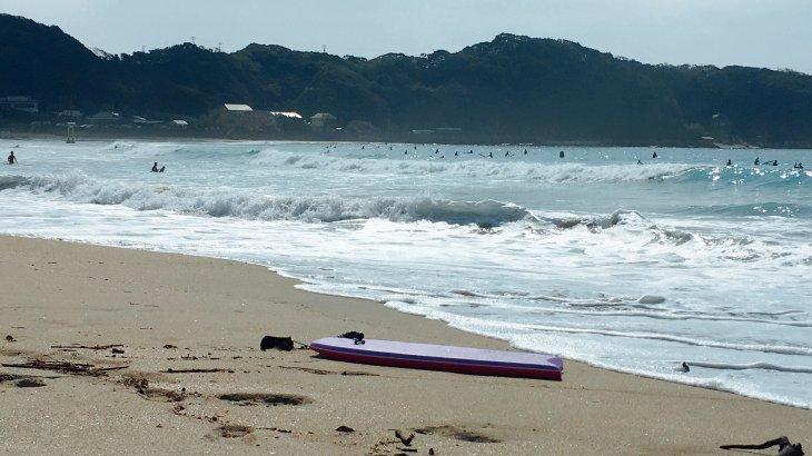 祝日のサーフィン