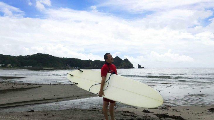 波のないサーフィン